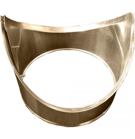 Króciec trójnika z blachy aluminiowej  ø 0.6